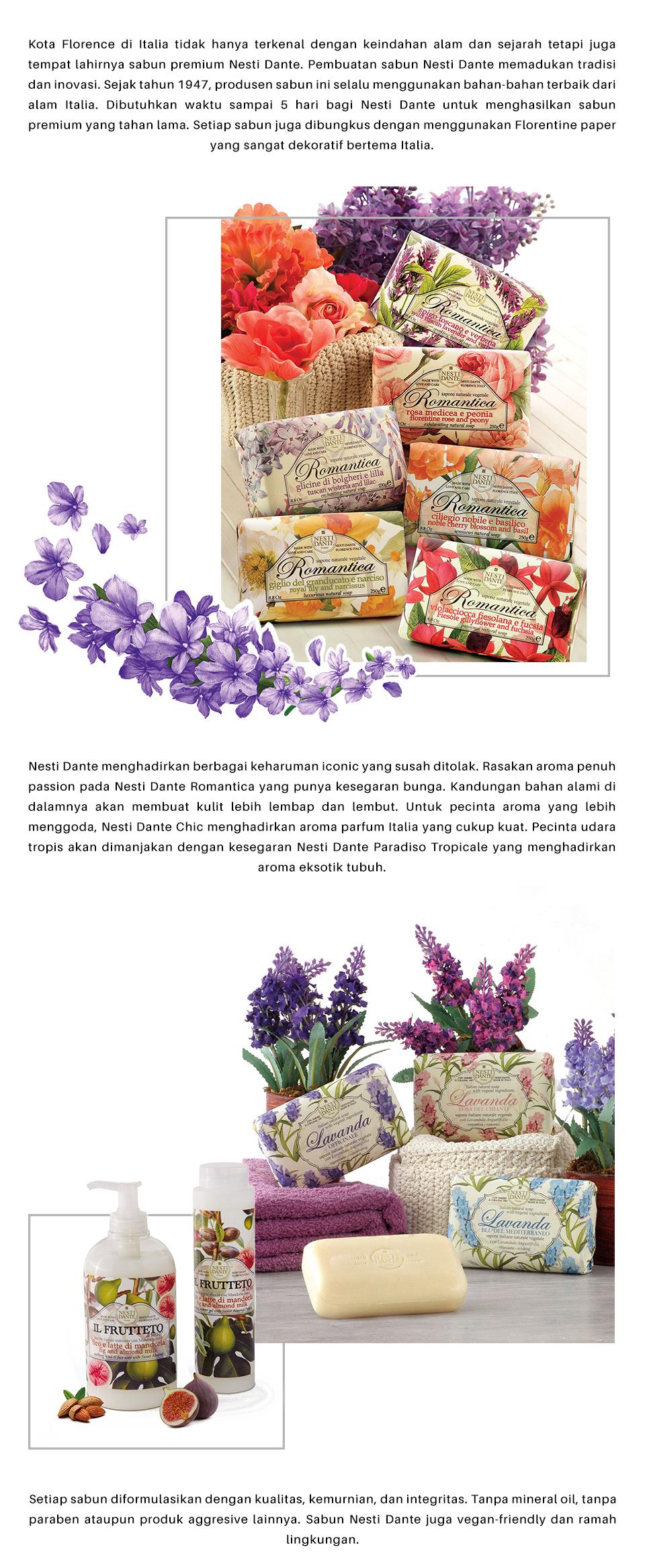 Ilotte Theme Shop Keharuman Sabun Premium Nesti Dante Rose Herbal 04 12 2017