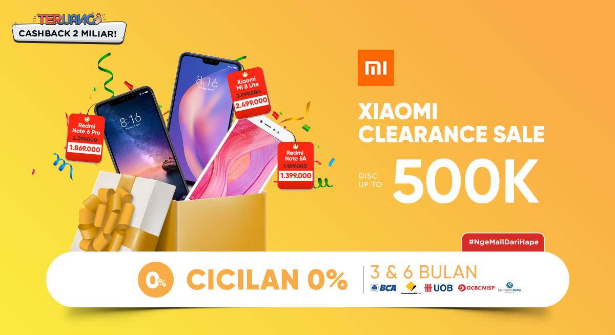 Promo Xiaomi Clearance Sale Ilotte