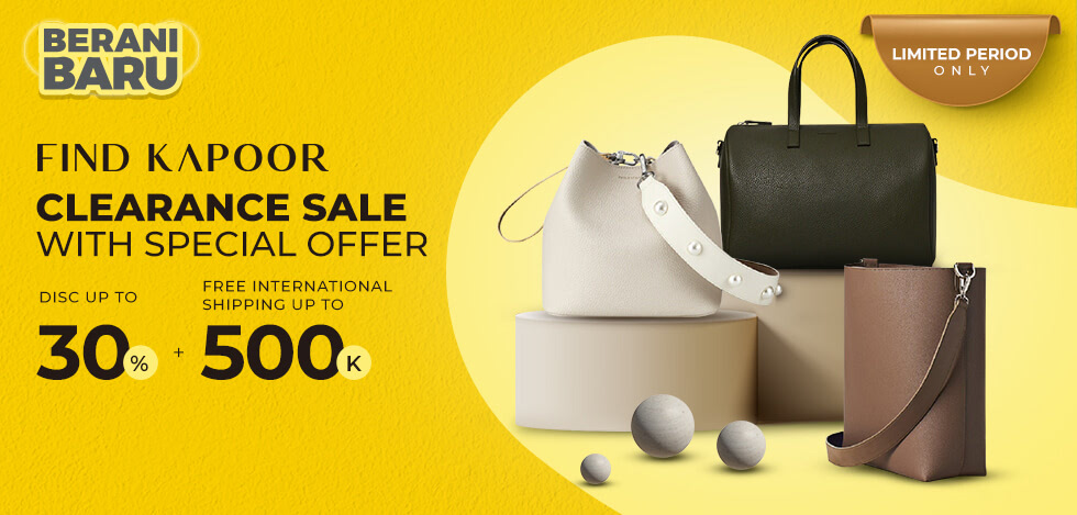 Find Kapoor Clearance Sale