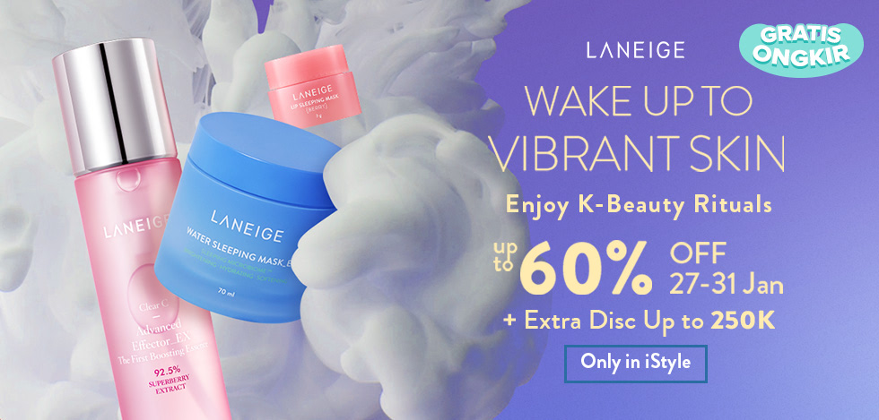 Laneige Wake Up to Vibrant Skin