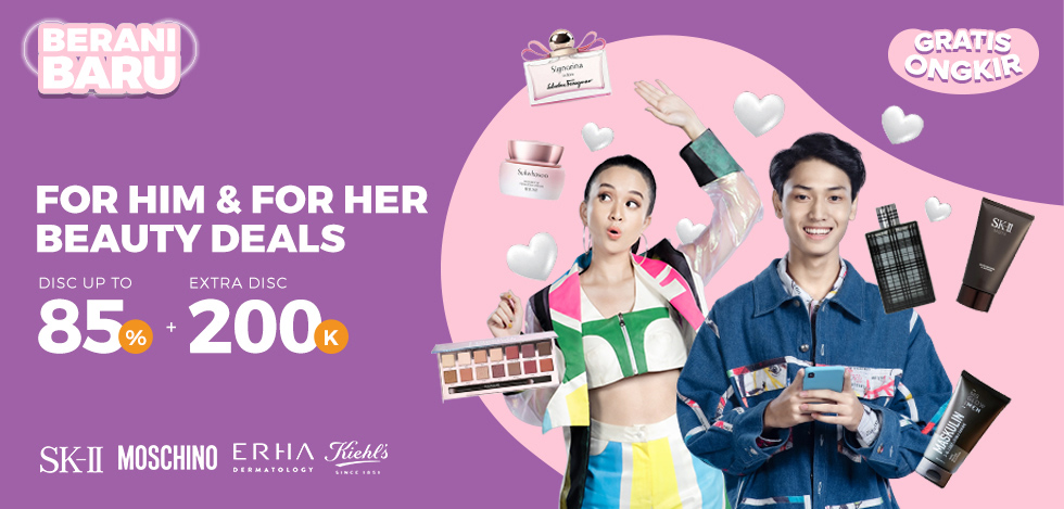 For Him For Her Beauty Deals