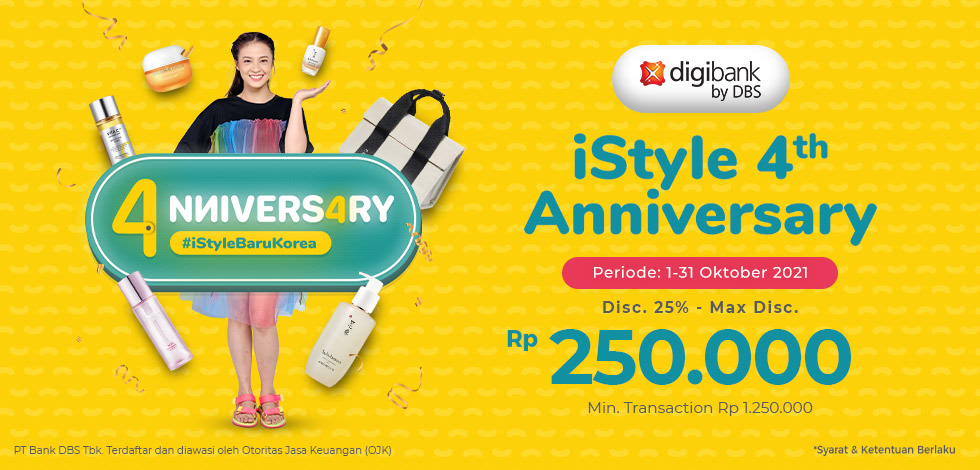 DBS iStyle Anniversary