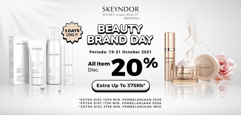Skyendor Beauty Brand Day