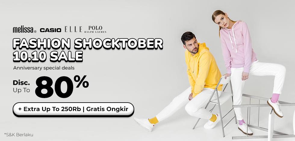 Fashion Shocktober Sale!