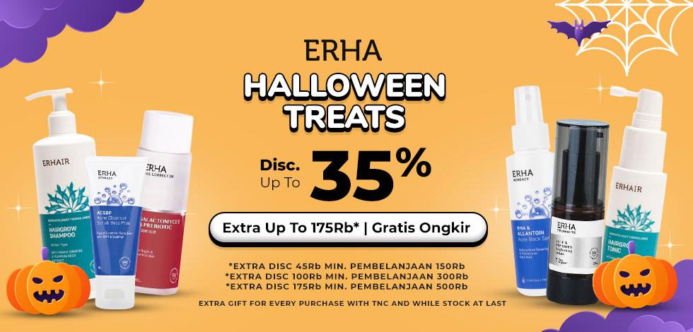 ERHA Halloween Treats