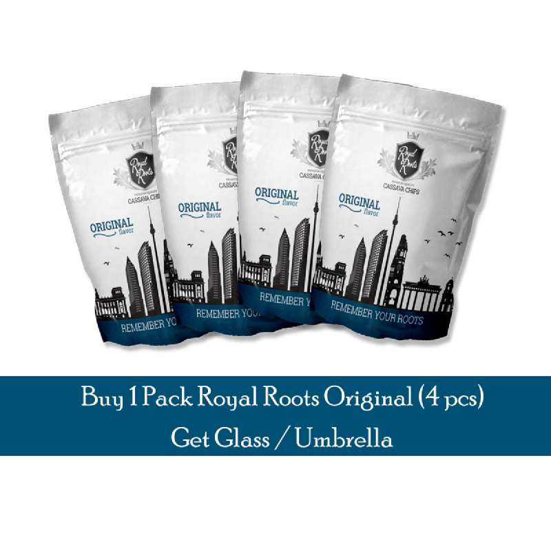 Royal Roots - Beli 1 Pack Royal Roots Bonus Gelas atau Payung