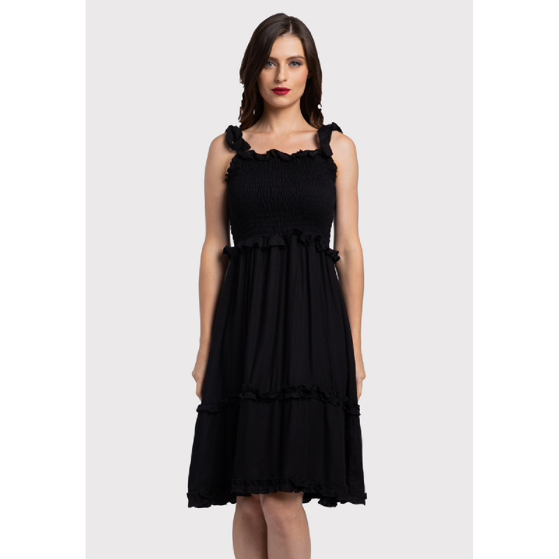 Lovadova Charlotte Dress Black