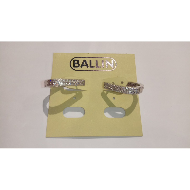 Ballin Women Earing FF-E874 Silver