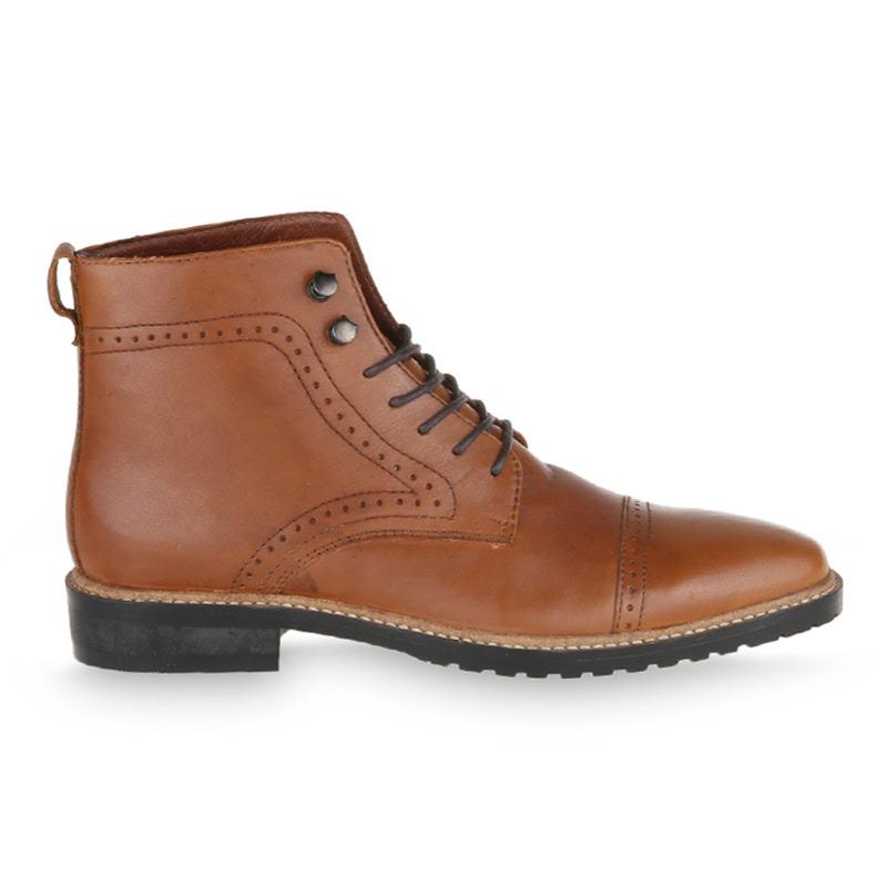 Ftale Impressa Boots Men Shoes - Brown