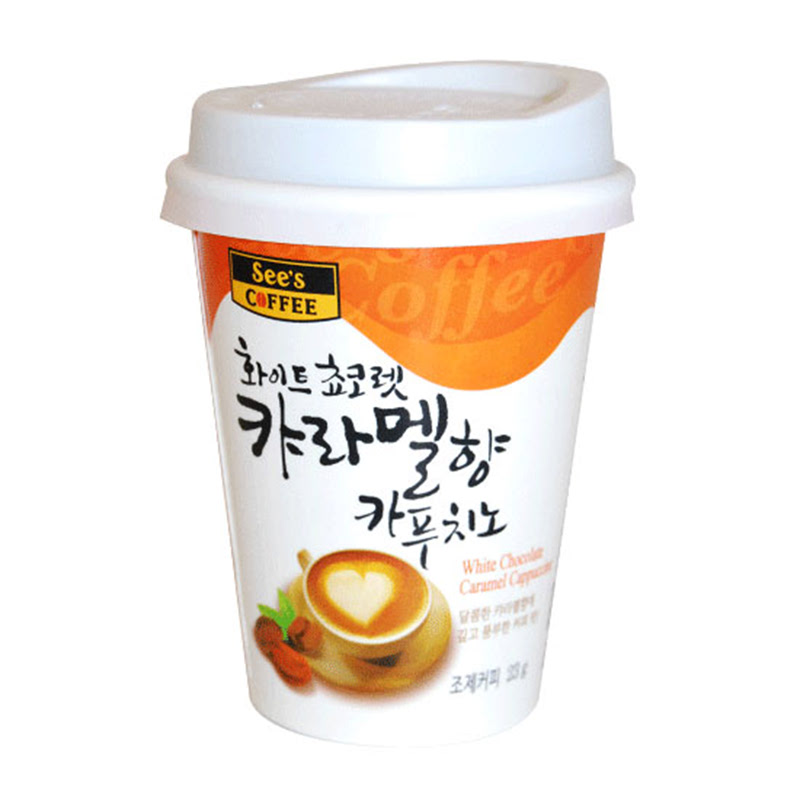Sees Coffee - White Chocolate Caramel Gelas 23 gr