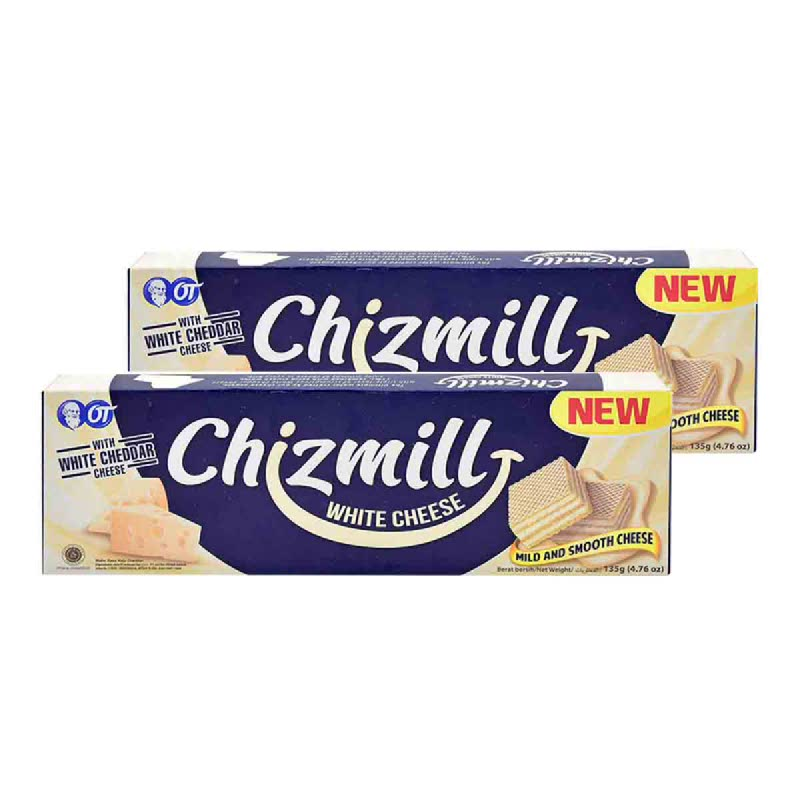 Chizmill White Cheese 135 Gr (Get 2)