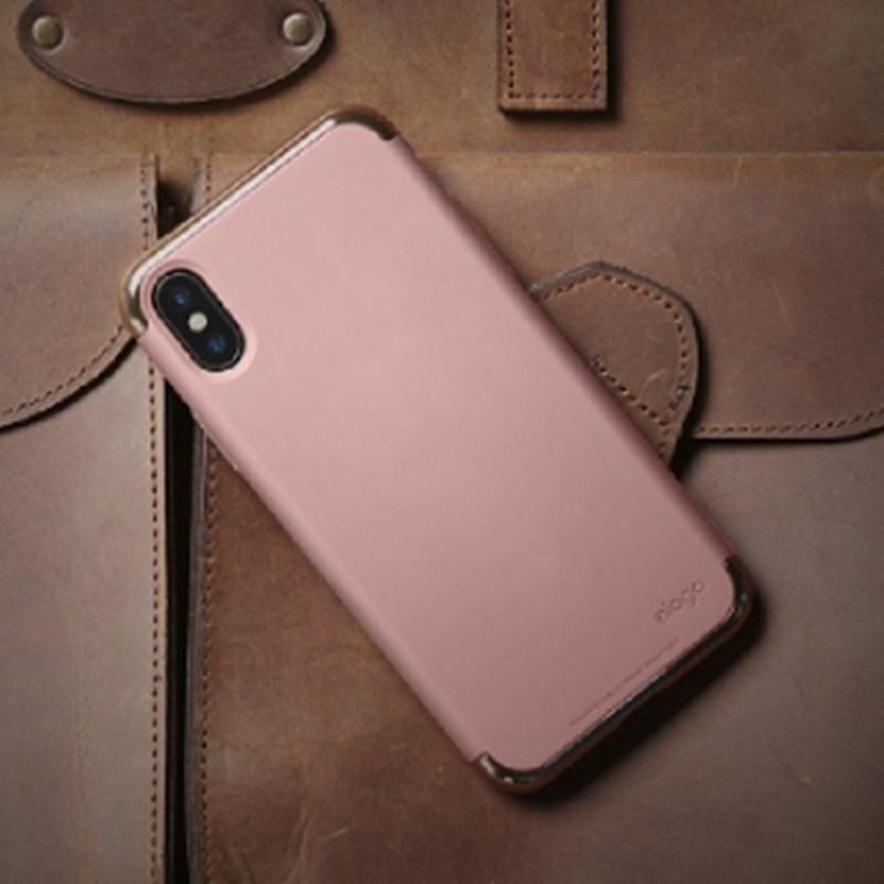 Elago iPhone X Case Empire Hard Case - Rose Gold