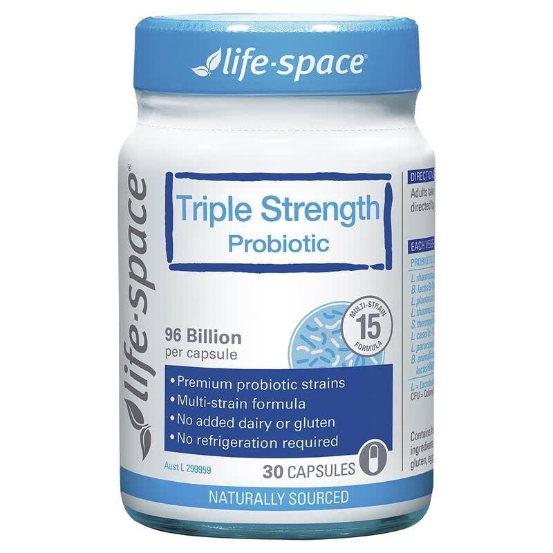 Life Space Triple Strength Powder 30 Caps