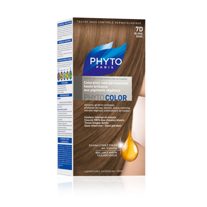 PHYTOCOLOR BLOND DORE NO 7D