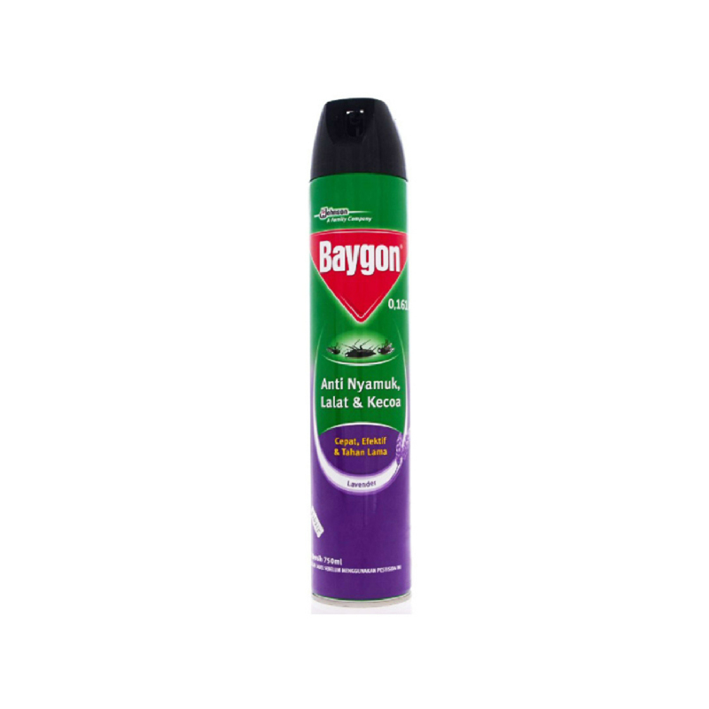 Baygon Aerosol Lavender 750ml
