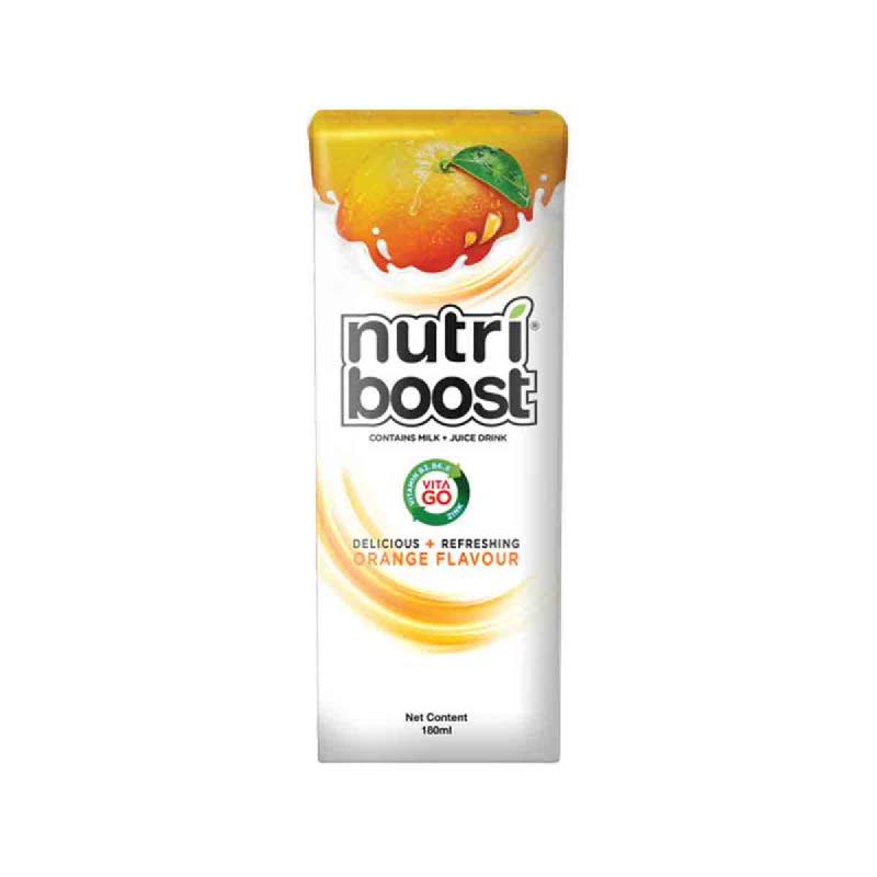 Minute Maid Nutriboost Orange Cba 180 Ml