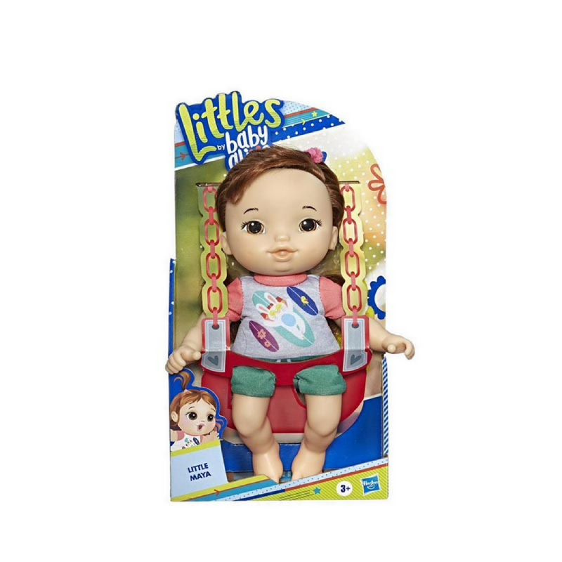 BABY ALIVE Littles by Baby Alive, Littles Squad, Little Maya - BYAE8408