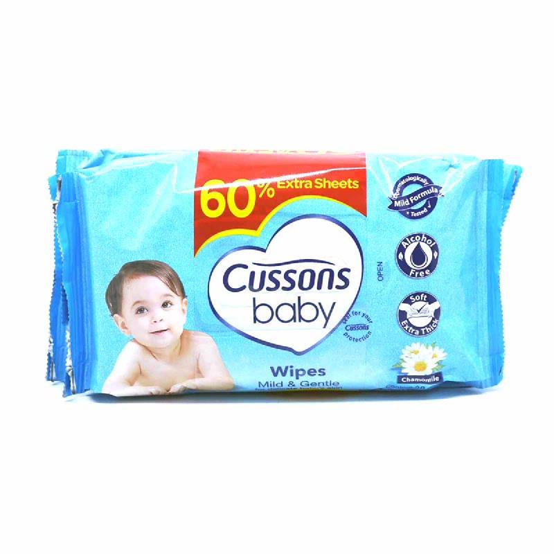 Cussons Tisu Basah Bayi Mild & Gentle 50 Sheet