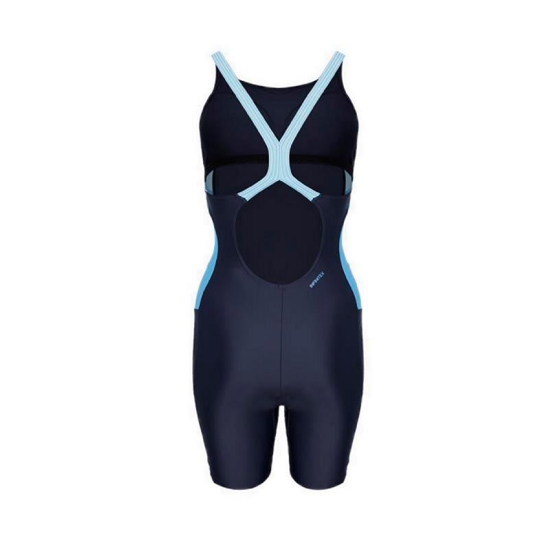 Adidas Swim Fitness Bodyleg Solid Women Swimwear Blue - ADWDQ3354R