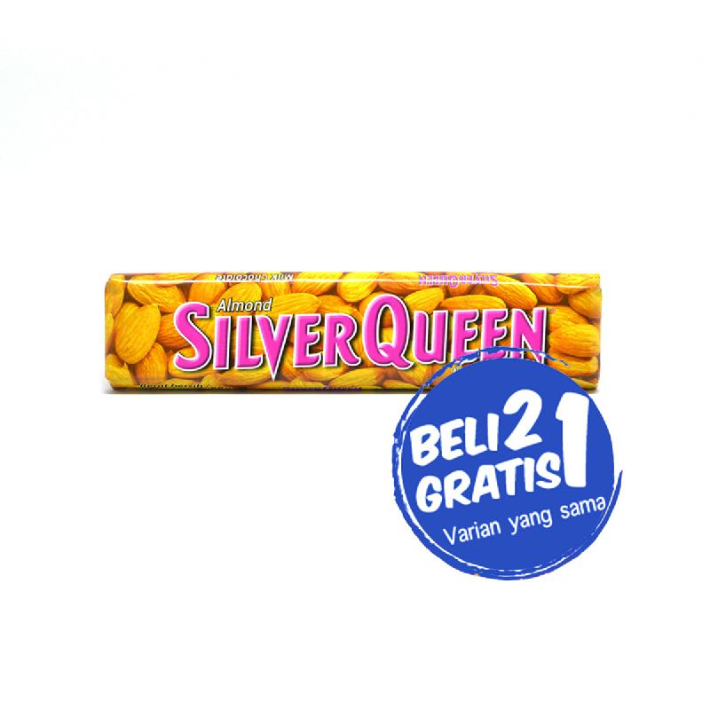 Silver Queen Almond 65 Gr (Buy 2 Get 1)