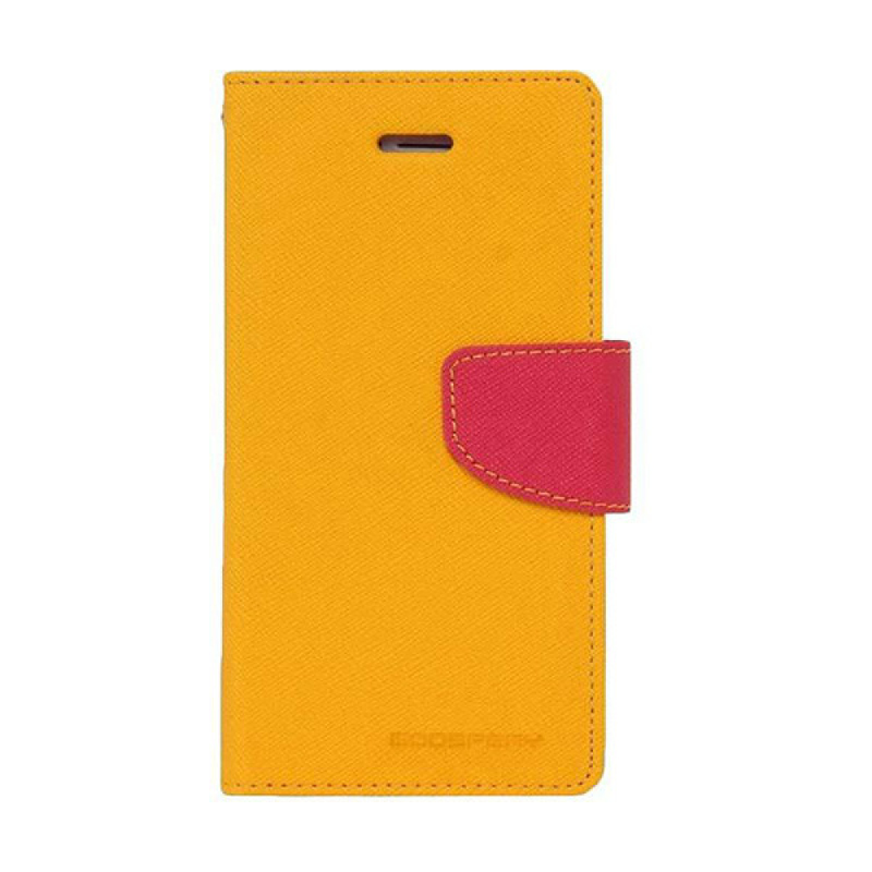 Goospery Fancy Diary I Phone 7 Plus - Kuning Magenta