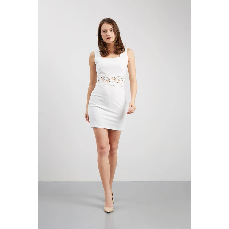 Francois Sinzig Dress in White