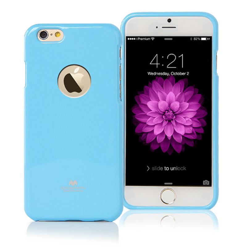 Goospery Jelly Case for iPhone 6 - Biru Muda