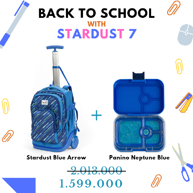 Back to School with Stardust Blue Arrow