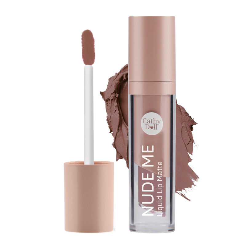 Cathydoll Nude Me Liquid Lip Matte 02 Nude Brown 4g