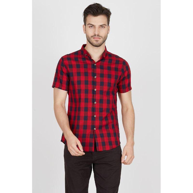 Men Juno Shirt Red
