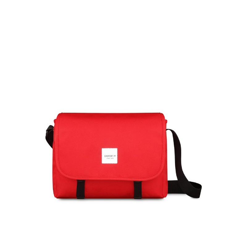 Exsport Vienna Blue (L) Shoulder Bag - Red