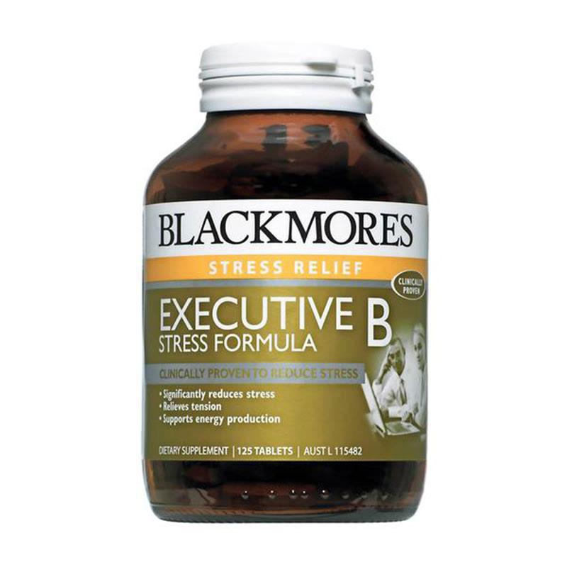 Blackmores Executive B Stress Formula 125 Tablets (Special Size)