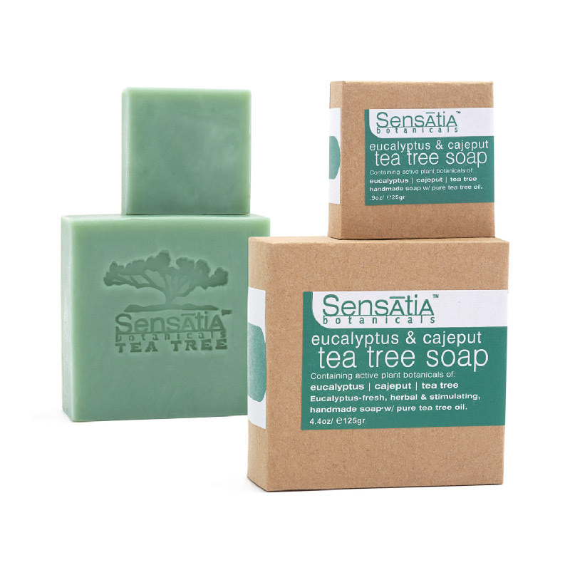 Sensatia Botanicals Eucalyptus & Cajeput Tea Tree Soap 125gr