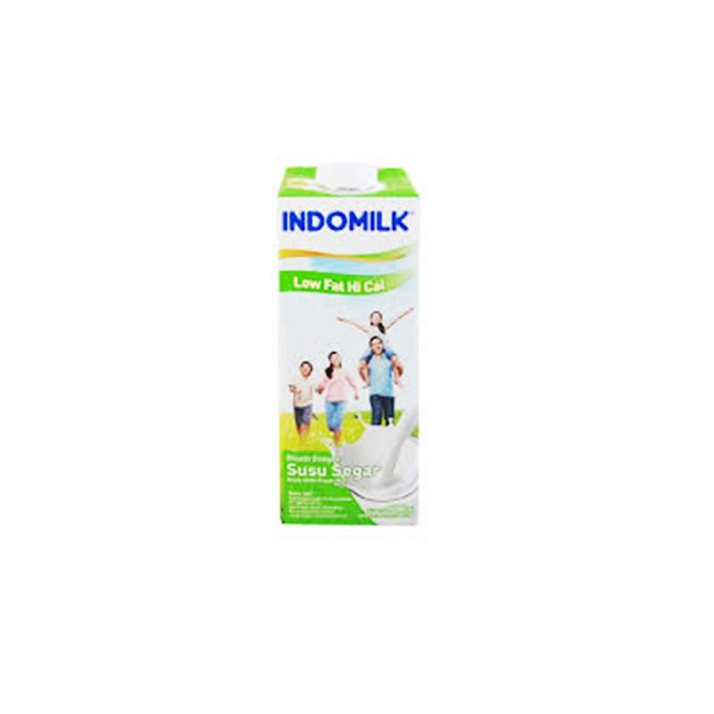 Indomilk Uht Low Fat 1000Ml