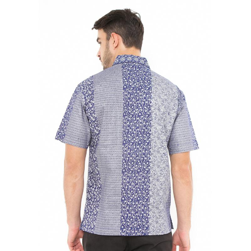 Agrapana Batik Lengan Pendek 104.01.166.1.2.Biru