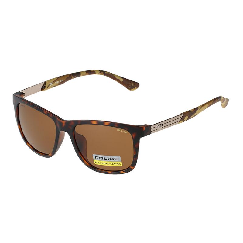 Spex Symbol Police Sunglasses 383K-781P Coklat