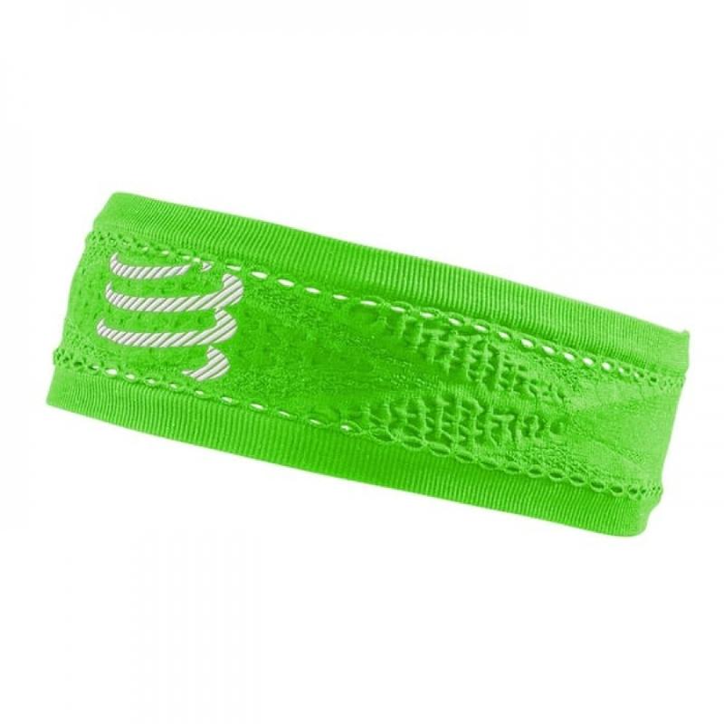 COMPRESSPORT Headband On Off Thin Green