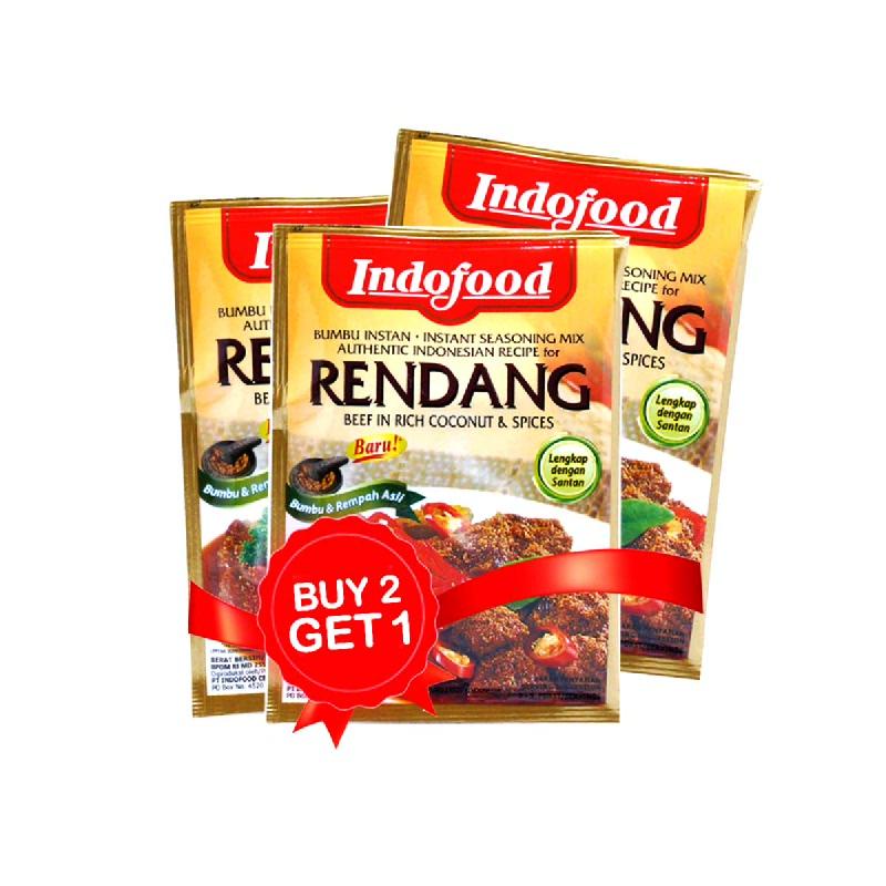 Kokita Bumbu Rendang Padang 60 Gr (Buy 2 Get 1)