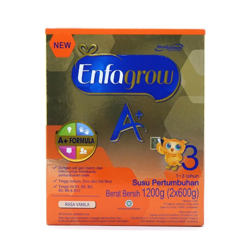 Enfagrow A+ 3 Vanilla Box 1200 Gr