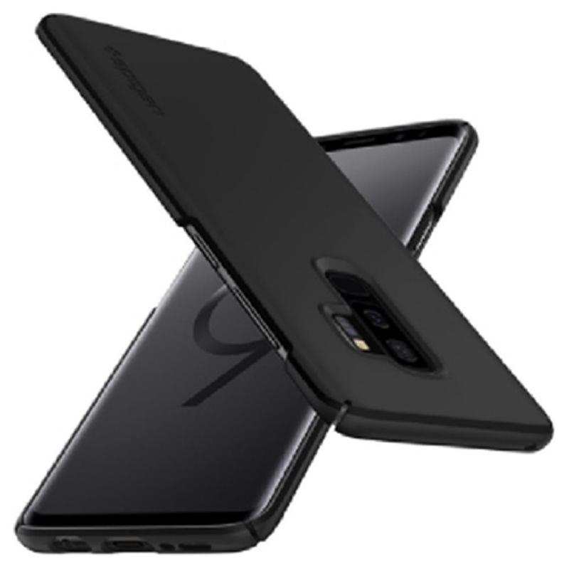Spigen Galaxy S9+ Case Thin Fit - Black