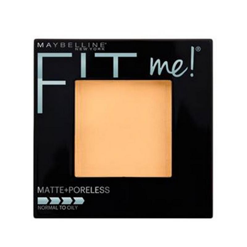 Maybelline Face Powder Fit Me Two Way Cake Matte + Poreless - 130 Buff Beige