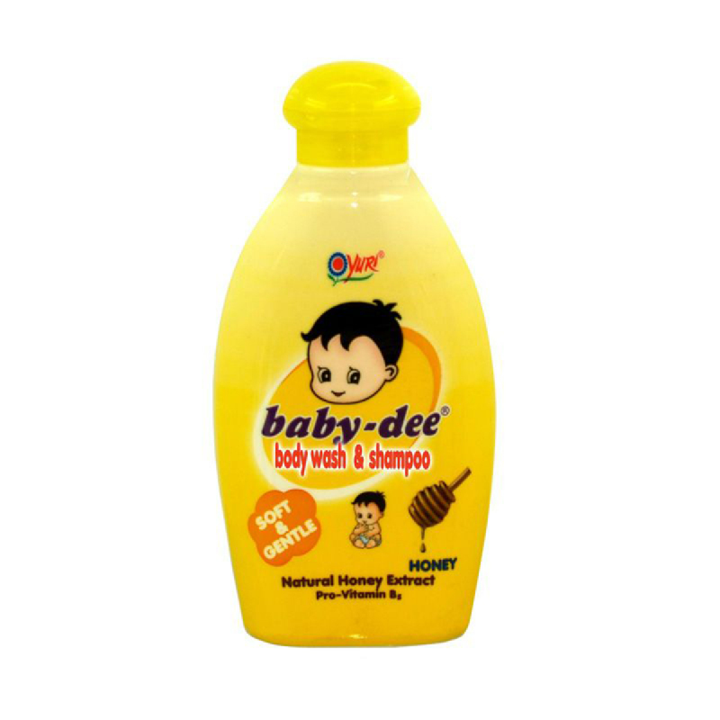 Baby-Dee Body Wash & Shampoo Honey 200 Ml