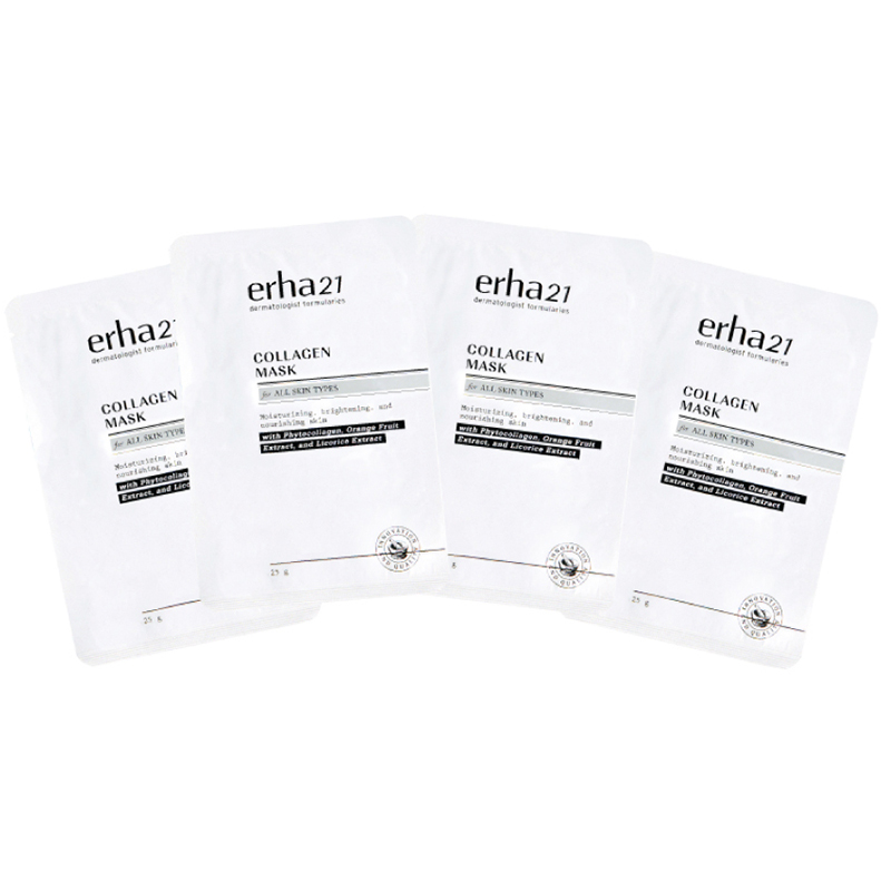 Erha Collagen Mask 4 pcs – Masker Wajah