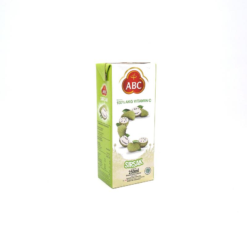Abc Juice Sirsak 250 Ml