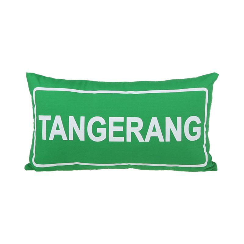 Toimoi Pillow Sign Street Tangerang Green