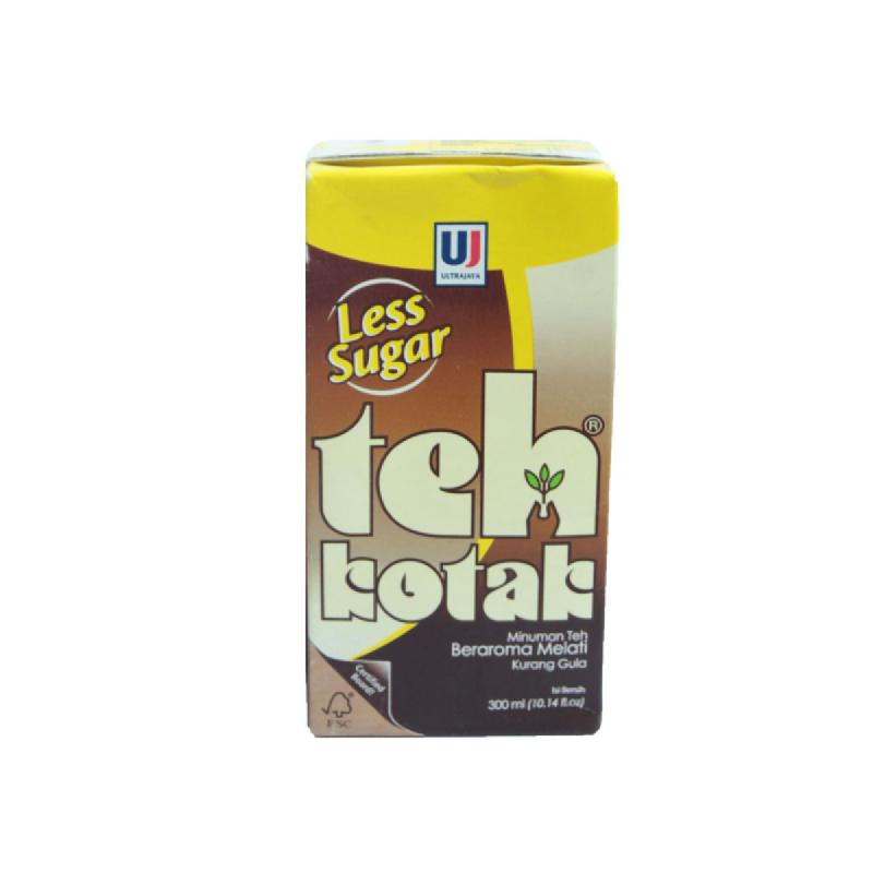Teh Kotak Less Sugar Tp 300 Ml