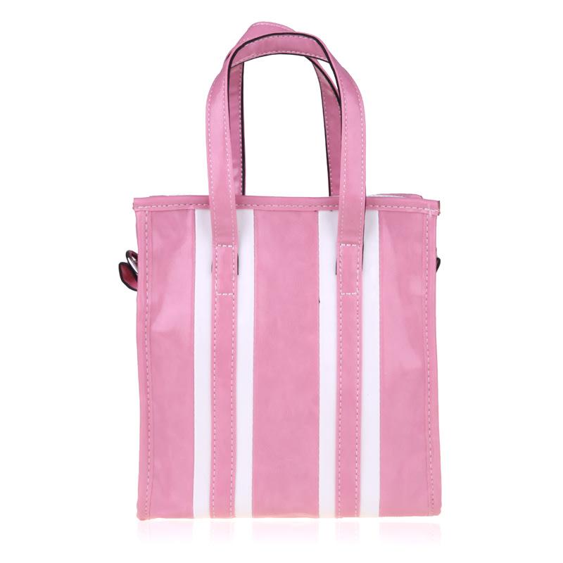 Nila Anthony Tas Wanita Stripe Pink