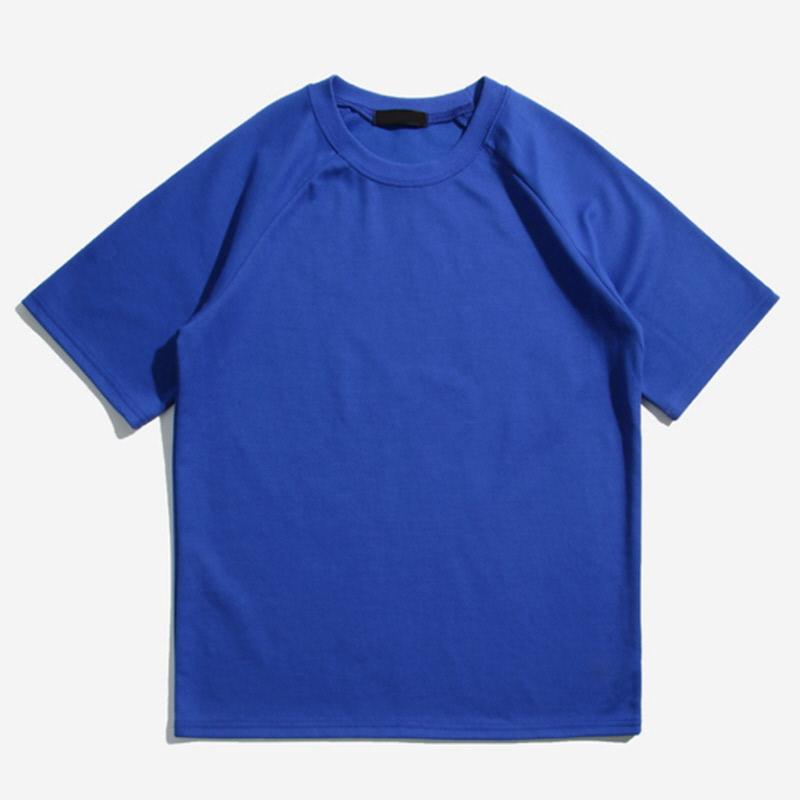 [NBA.03] Tetris Raglan Short Sleeve T-shirt BLUE