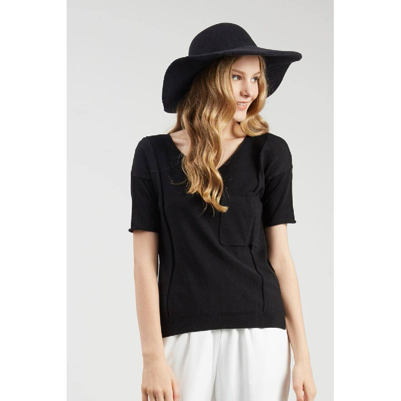 Francois Menden Top in Black
