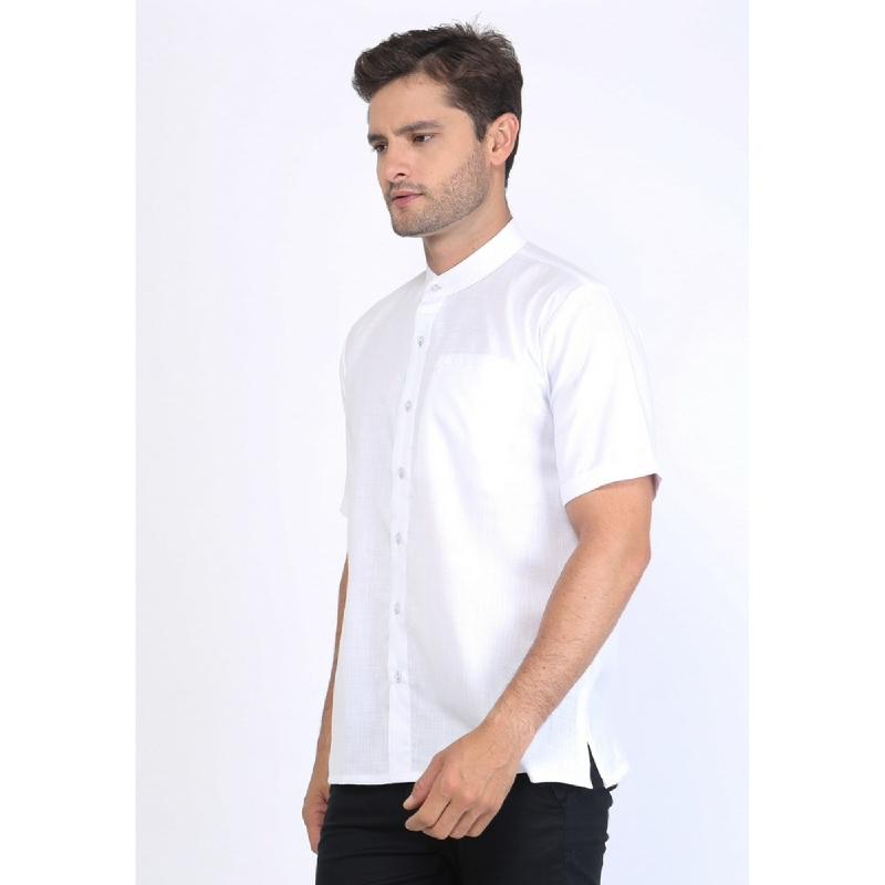 Allev Afif Shirt List Biru Putih